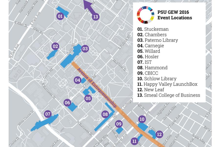 GEW 2016 Map